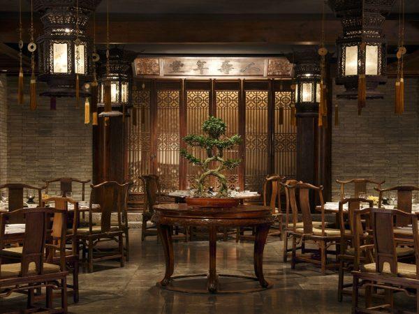 The Peninsula Beijing Huang Ting main dining room