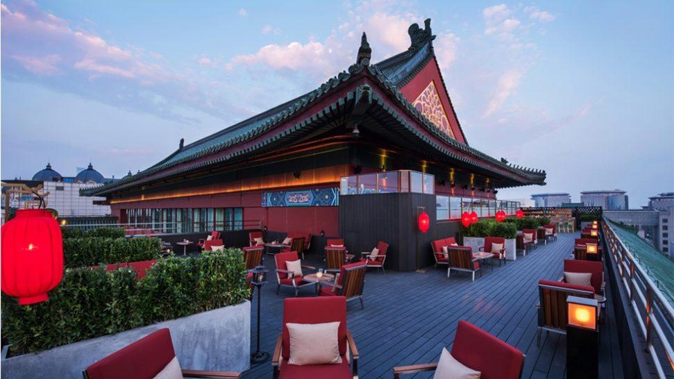 The Peninsula Beijing Yun Summer lounge