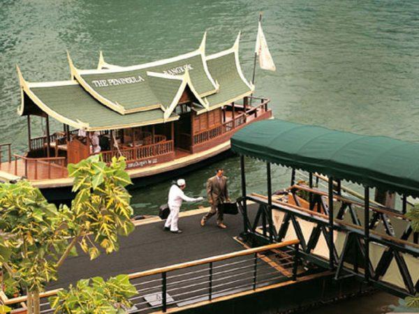 The Peninsula Bnagkok Transportation Hotel's boat