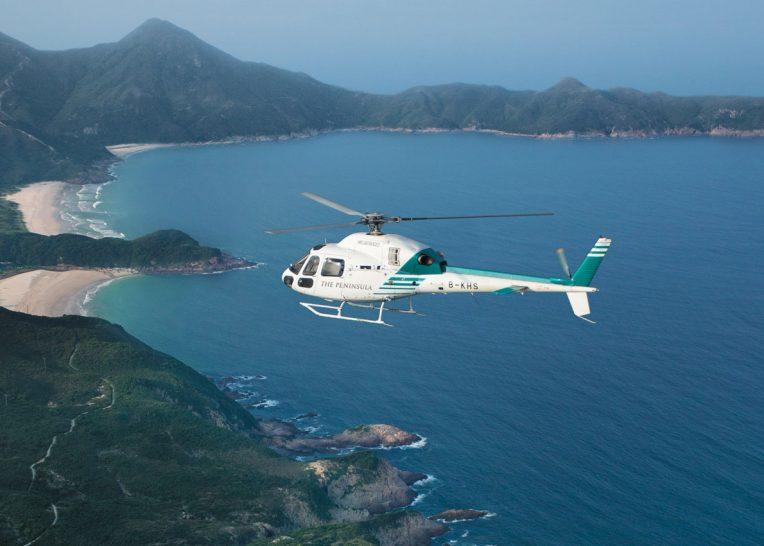 The Peninsula Hong Kong Helicopter