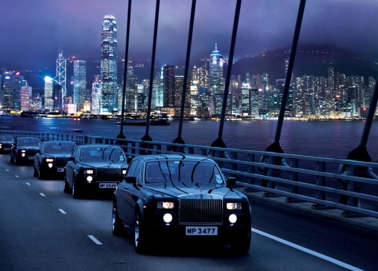 The Peninsula Hong Kong Rolls Royce Limo