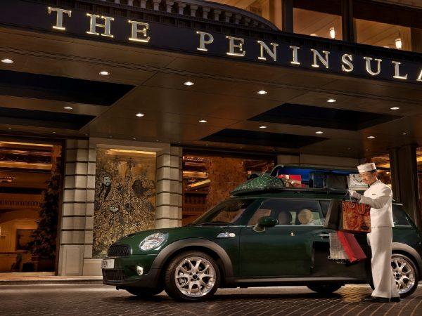 The Peninsula Hong Kong's MINI Cooper S Clubman