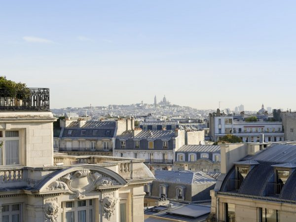 The Peninsula Paris Garden Suite View