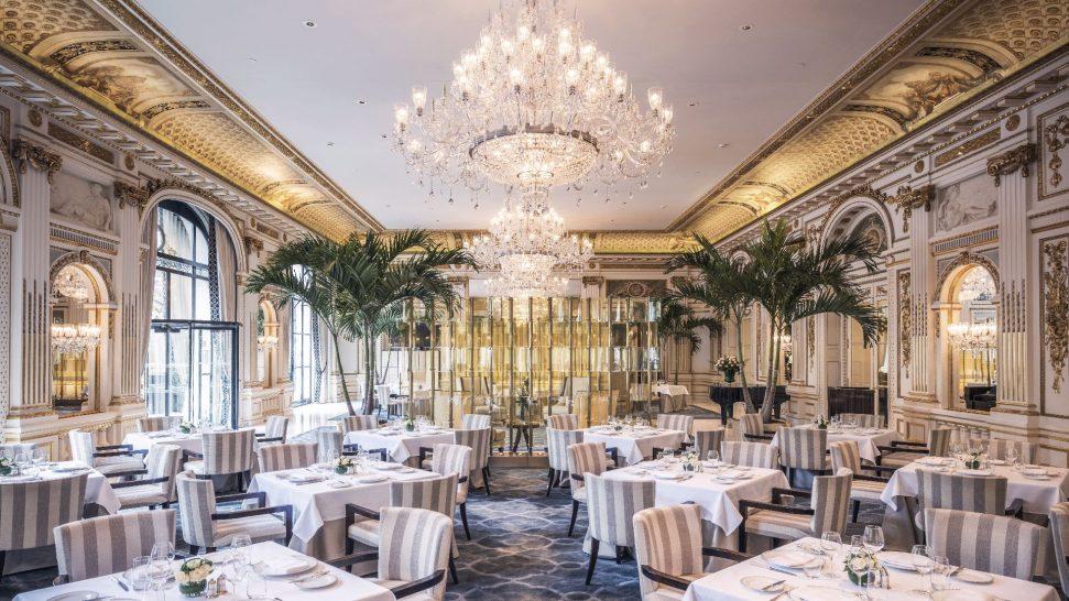 The Peninsula Paris Le Lobby Restaurant
