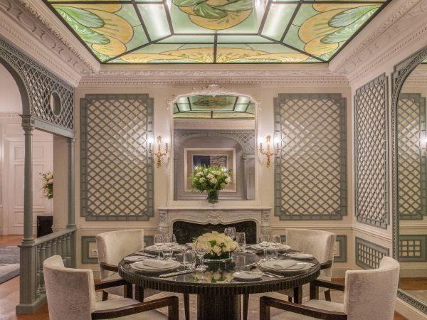 The Peninsula Paris The Historic Suite Dining Area