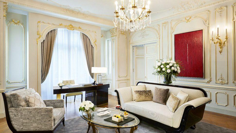 The Peninsula Paris The Historic Suite Living Room
