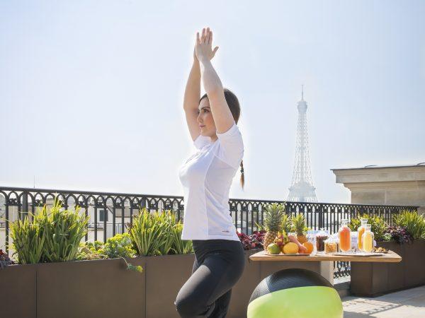 The Peninsula Paris Yoga