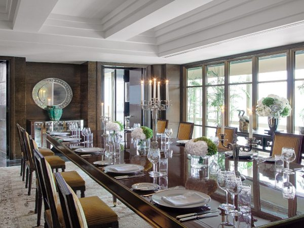 The Peninsula Suite Dining Room