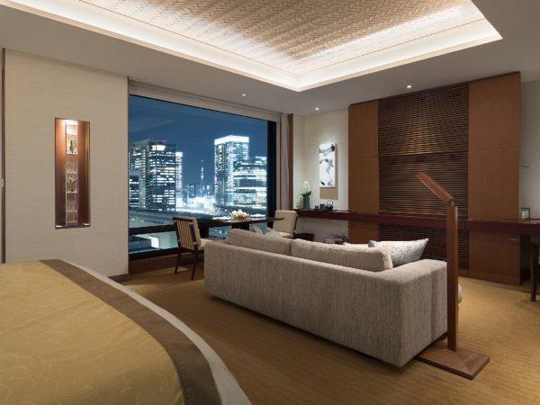 The Peninsula Tokyo Deluxe Corner Room King