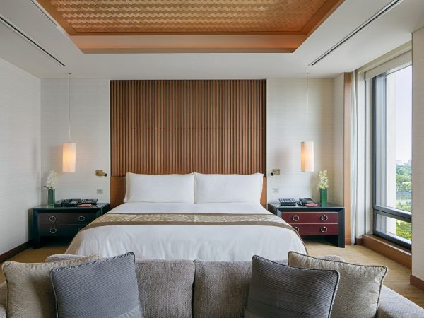 The Peninsula Tokyo Deluxe Park View King Room
