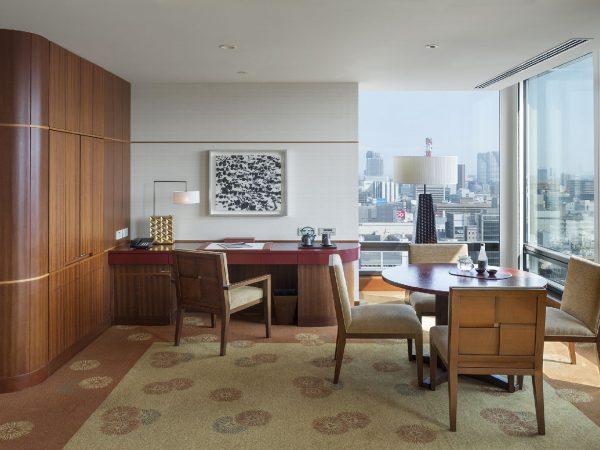 The Peninsula Tokyo Executive Suite Dining Area