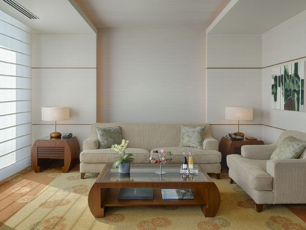 The Peninsula Tokyo Executive Suite Living Room