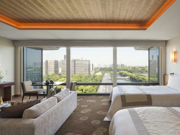 The Peninsula Tokyo Grand Deluxe Twin Room