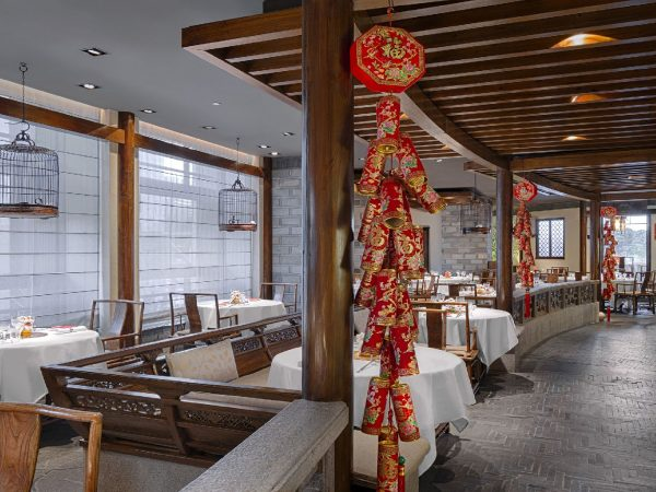 The Peninsula Tokyo Hei Fung Terrace Chinese New Year Main Dining Area