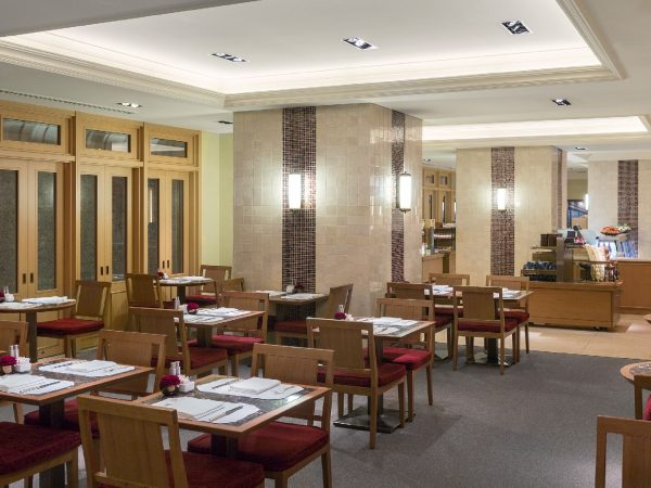 The Peninsula Tokyo Boutique & Cafe Dining Area
