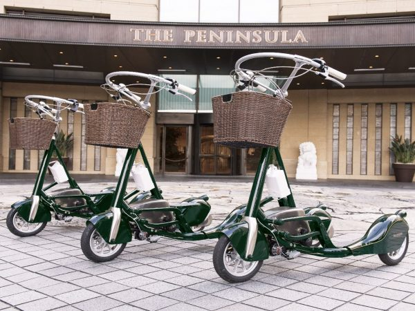 The Peninsula Tokyo the PenCycle