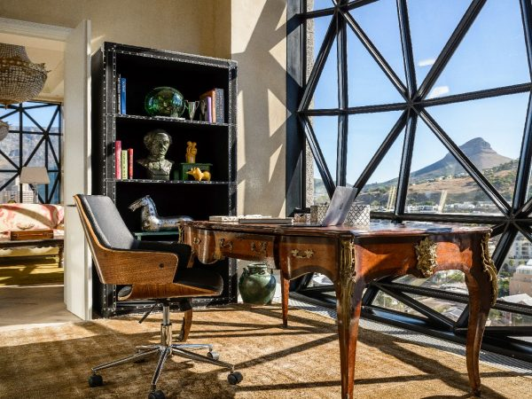 The Silo Penthouse Study room