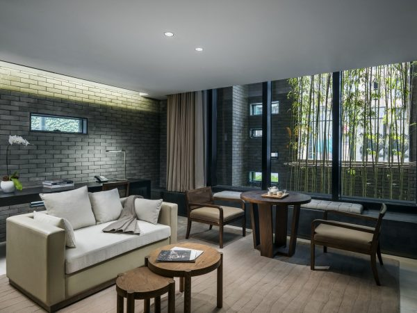 The Temple House Deluxe Courtyard Suite