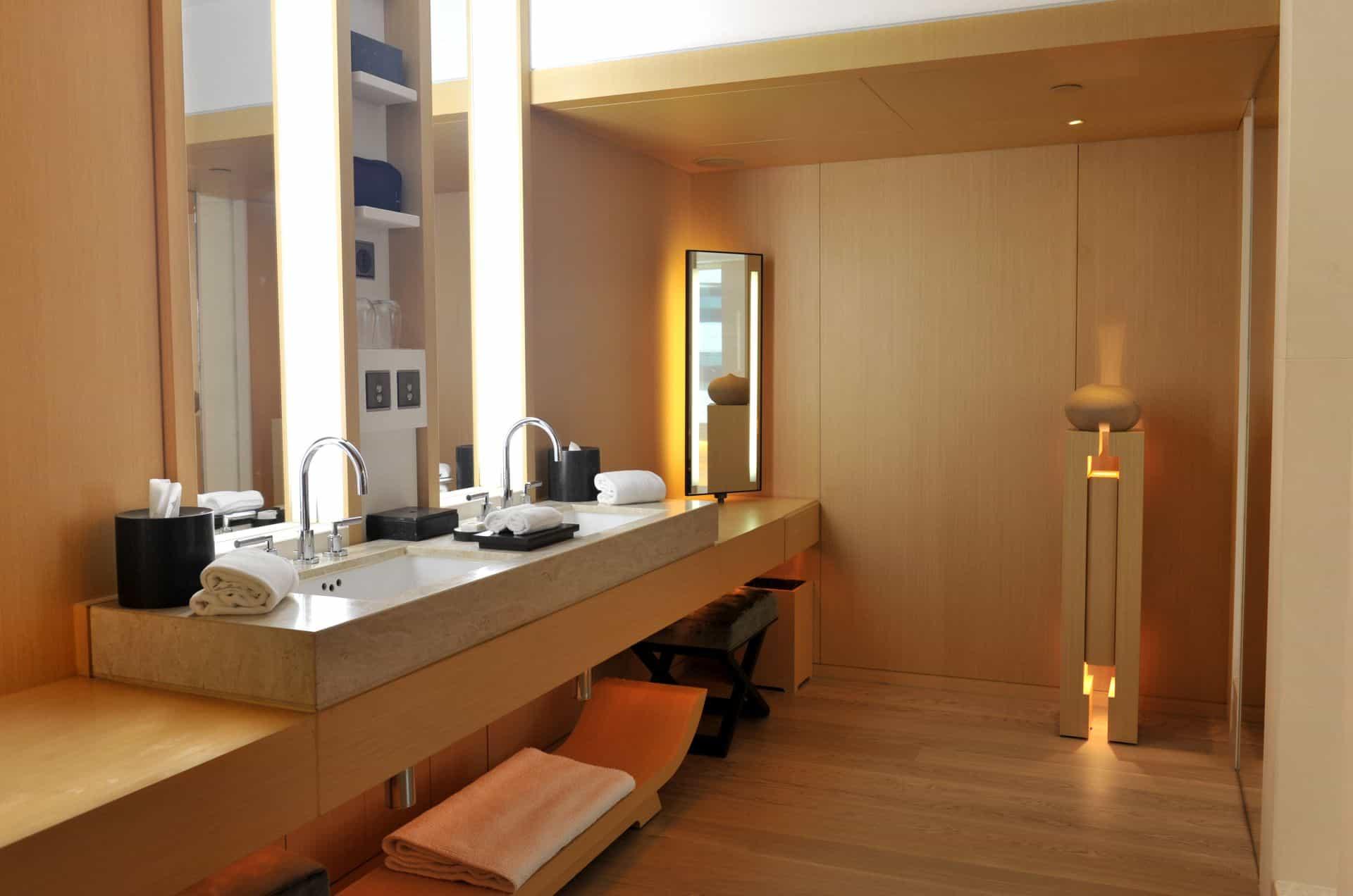 The Upper House bathroom