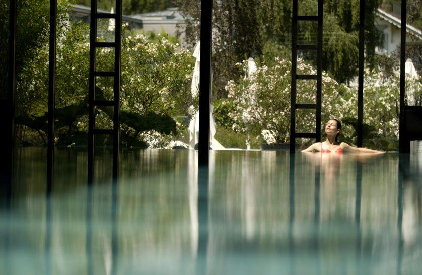 Victoria Jungfrau Grand Hotel Spa Pool