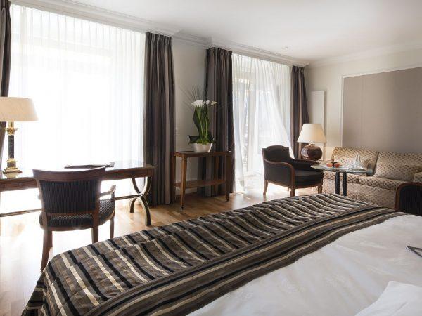 Victoria Jungfrau Interlaken deluxe double suite