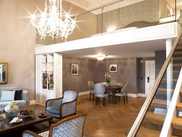 Victoria Jungfrau Interlaken duplex suite club