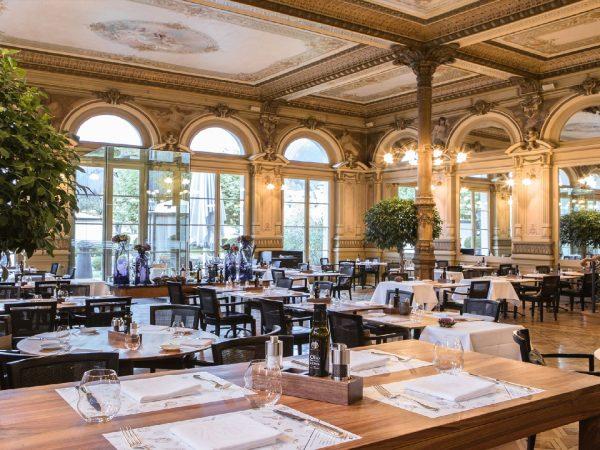 Victoria Jungfrau Interlaken ristorante sapori