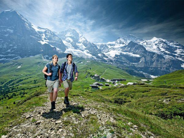 Victoria Jungfrau hiking