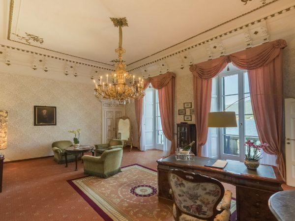 Villa Serbelloni Seniour Suite Living room
