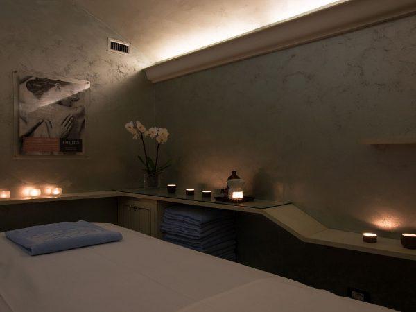 Villa Serbelloni Spa treatment room