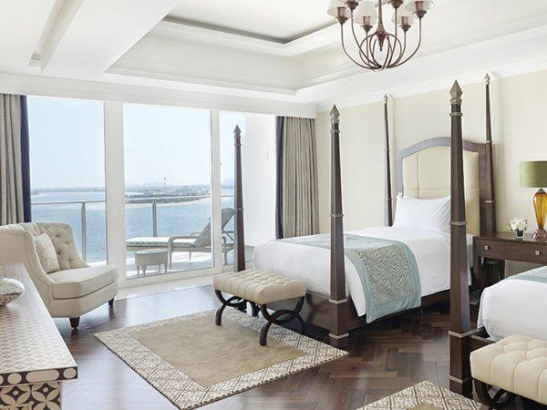 Waldorf Astoria Dubai Palm Jumeirah Chairman Suite Double Queen Bedroom