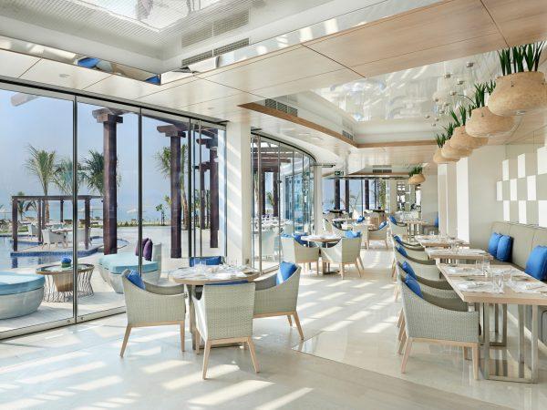 Waldorf Astoria Dubai Palm Jumeirah Palm-Avenue Mediterranean dining