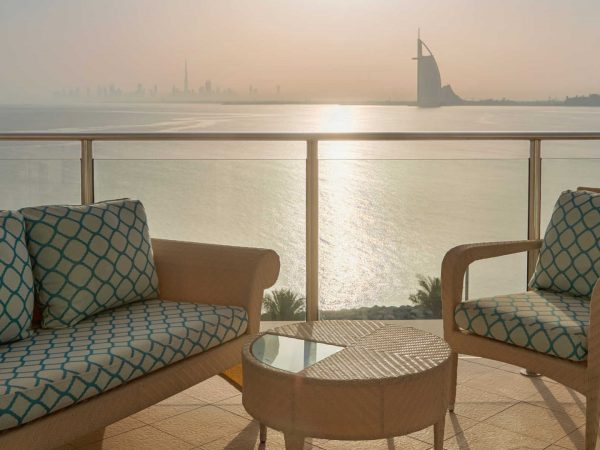 Waldorf Astoria Dubai Palm Jumeirah Rooms & Suites Sea View