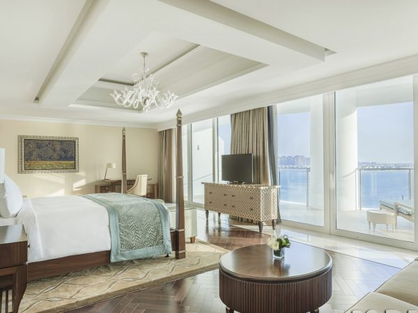 Waldorf Astoria Dubai Palm Jumeirah Royal Suite Bedroom
