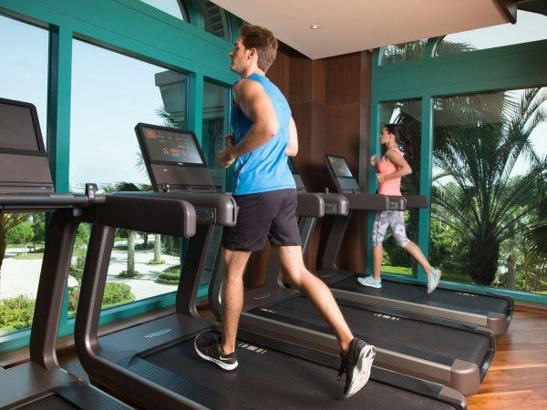 Waldorf Astoria Dubai Palm Jumeirah fitness