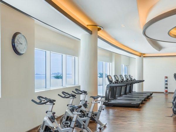 Waldorf Astoria Dubai Palm Jumeirah gym