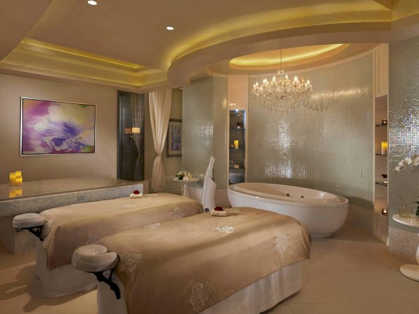Waldorf Astoria Dubai Palm Jumeirah private couple spa