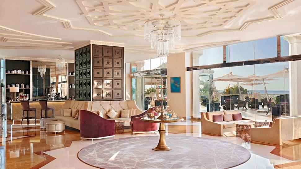 Waldorf Astoria Ras Al Khaimah Camelia Tea Lounge