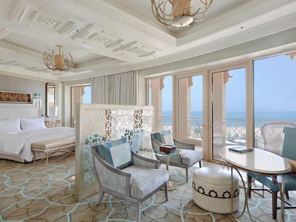 Waldorf Astoria Ras Al Khaimah Deluxe Room Balcony Sea View