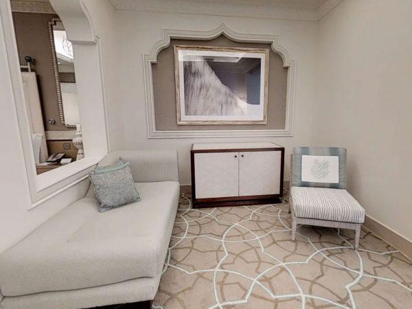 Waldorf Astoria Ras Al Khaimah King Grand Junior Suite with Seaview and Balcony
