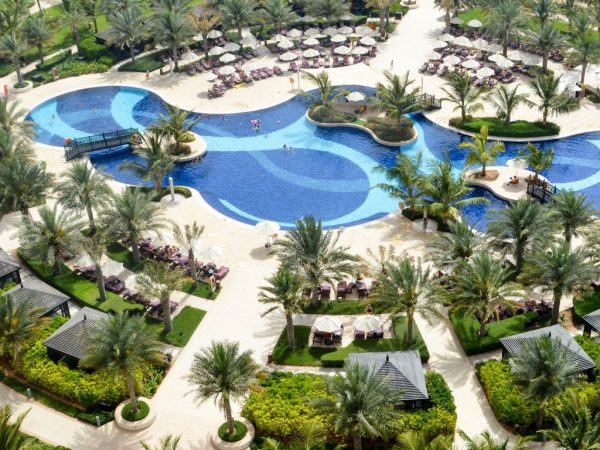 Waldorf Astoria Ras Al Khaimah Lagoon Pool
