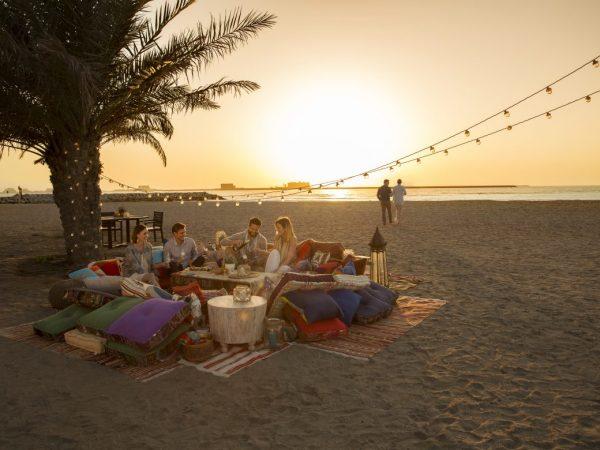 Waldorf Astoria Ras Al Khaimah beach picnic