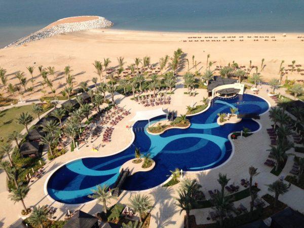 Waldorf Astoria Ras Al Khaimah exterior view