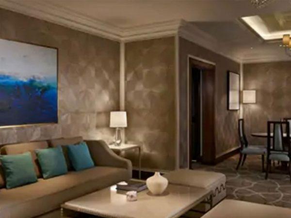 Waldorf Astoria Ras Al Khaimah king tower suite