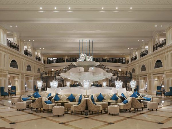 Waldorf Astoria Ras Al Khaimah lobby
