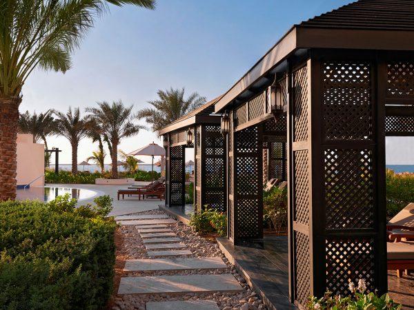 Waldorf Astoria Ras Al Khaimah poolside