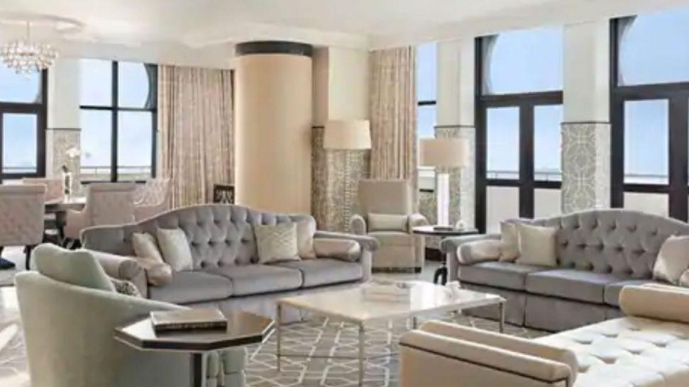 Waldorf Astoria Ras Al Khaimah royal suite with sea view