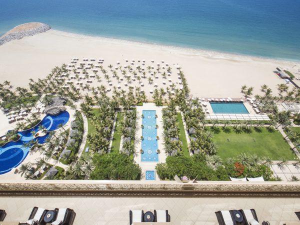 Waldorf Astoria Ras Al Khaimah top view