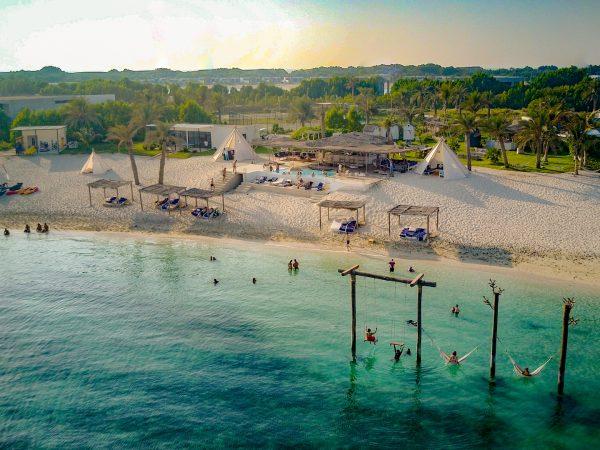Zaya Nurai Island Abu Dhabi Beach View