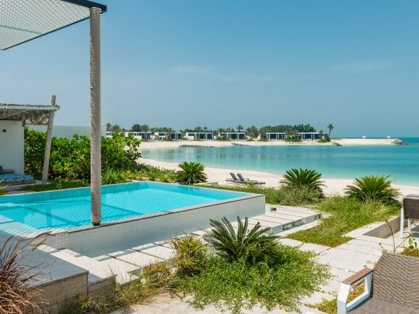 Zaya Nurai Island Abu Dhabi Lobby Sea View